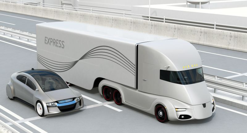 car, auto, vehicle, electric, ev, transport, transportation, ecology, autonomous, self driving, technology, driverless, truck, semi, trailer, cargo, container, freight, tractor, delivery, shipment, trucking, lorry, motor, battery, industry, carrier, autopilot, commercial, trucker, shipping, futuristic, autobahn, freeway, motorway, road, lane, driving, highway, 3d, 3d illustration, logistics, industrial, innovation, speedway, roadway, urban, city, bridge, streetscape
