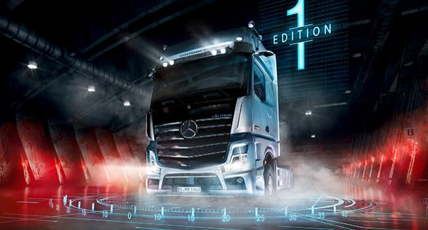Press Kits sorted by years, Daimler at the IAA Commercial Vehicles 2018 in Hanover, NFZ Mercedes-Benz, IAA 2018 Hanover, 2018 - Actros - Exterieur, Actros ab 2018 WP, Daimler Trucks at the IAA 2018, Mercedes-Benz, Trucks, IAA 2018, Insel für die IAA, MediaSite, Press Releases sorted by years, Daimler Global MediaSite, Mercedes-Benz Trucks: Strong presence of the new Actros: Mercede, 09 - 2018, 2018, Press Archives, Actros, Brands & Products, Exterior, Daimler Trucks