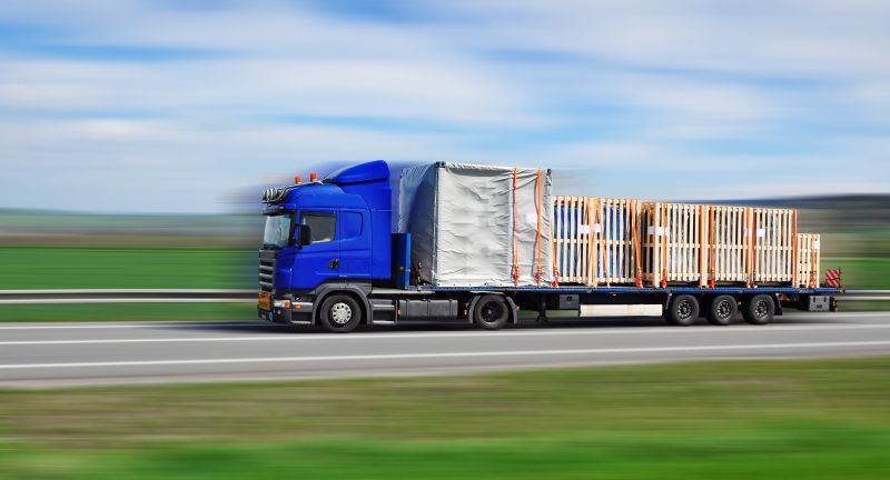truck, transport, delivery, transportation, freight, quick, moving, fast, speedy, road, load, blur, blurred, goods, car, lorry, container, delivering, carrier, trade, business, industry