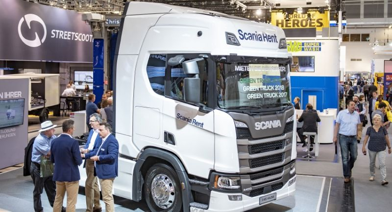 Messe M?nchen, the leading exhibition, transport logistic 2019