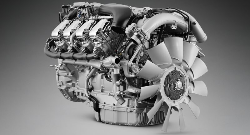 V8, Engine, Studio, Grey