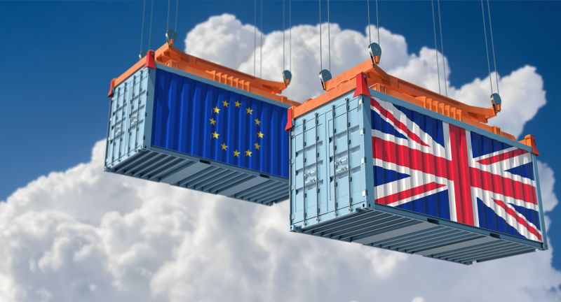 united kingdom flag, european union, brexit referendum, commerce, brexit, tariff, cargo, cargo container, competition, conflict, container, cooperation, delivery, distribution, embargo, england, export, flag, freight, freight container, freight transportation, goods, import, industrial, industry, international, leaving, logistic, logistics, moving, partner, partnership, port, referendum, shipment, shipping, shipping container, storage, trade, trade war, transfer, transport, transportation