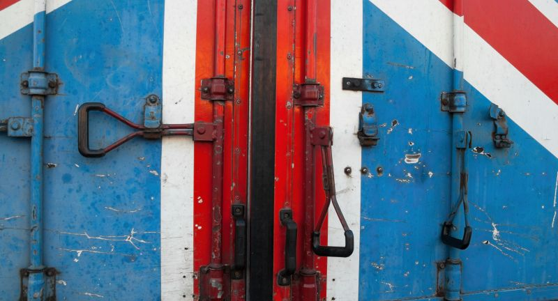 British, flag, Britain, Great, United, Kingdom, UK, door, entrance, exit, Brexit, European, Union, concept, conceptual, lorry, truck, body, container, metal, lock, industrial, building, construction, garage, industry, closed, abstract, red, blue, white, exterior, facade, car, politics, political, vehicle, cargo, transport, transportation, refrigerator, rear, double-wing, import, export, outlet, way, entry, state, national, british, flag, britain, great, united, kingdom, uk, door, entrance, exit, brexit, european, union, concept, conceptual, lorry, truck, body, container, metal, lock, industrial, building, construction, garage, industry, closed, abstract, red, blue, white, exterior, facade, car, politics, political, vehicle, cargo, transport, transportation, refrigerator, rear, double-wing, import, export, outlet, way, entry, state, national